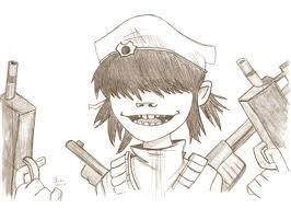 266x190 Gorillaz Images Cyborg Drawing Wallpaper And Background Photos