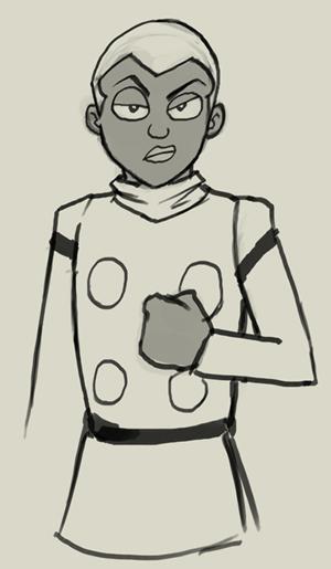 300x515 How To Draw Manga Cyborg 008 Pyunma