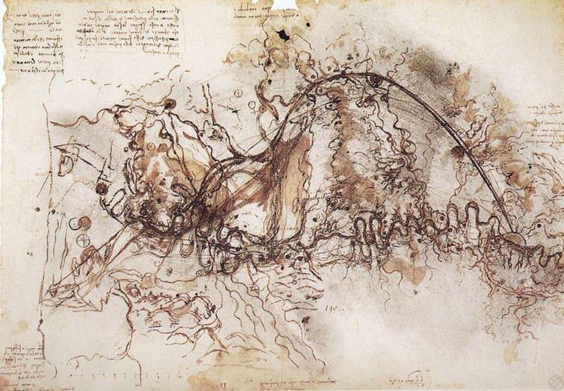 Contour Line Drawing Leonardo Da Vinci : Da vinci drawing at getdrawings free for personal use