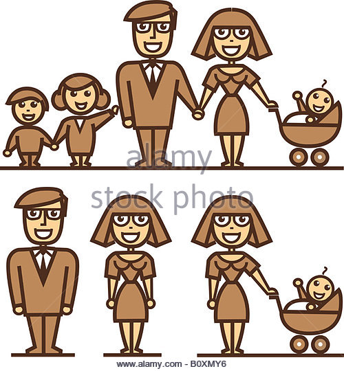 500x540 Mommy And Daddy Drawing Stock Photos Amp Mommy And Daddy Drawing