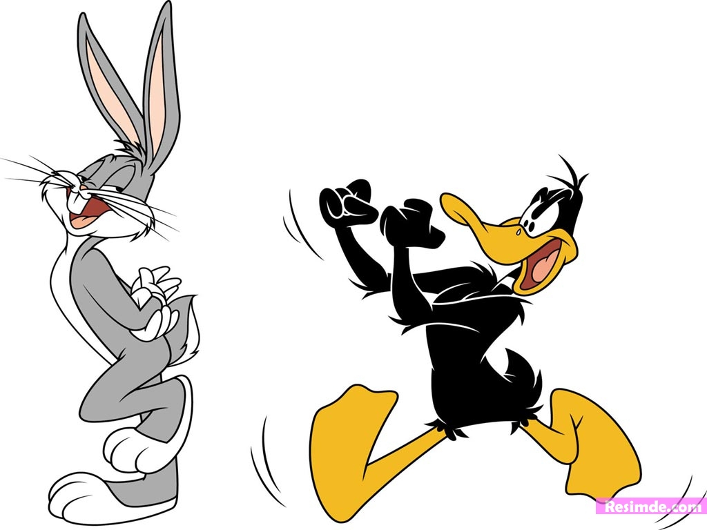 1024x768 Bugs Bunny Drawing Daffy Duck Episode