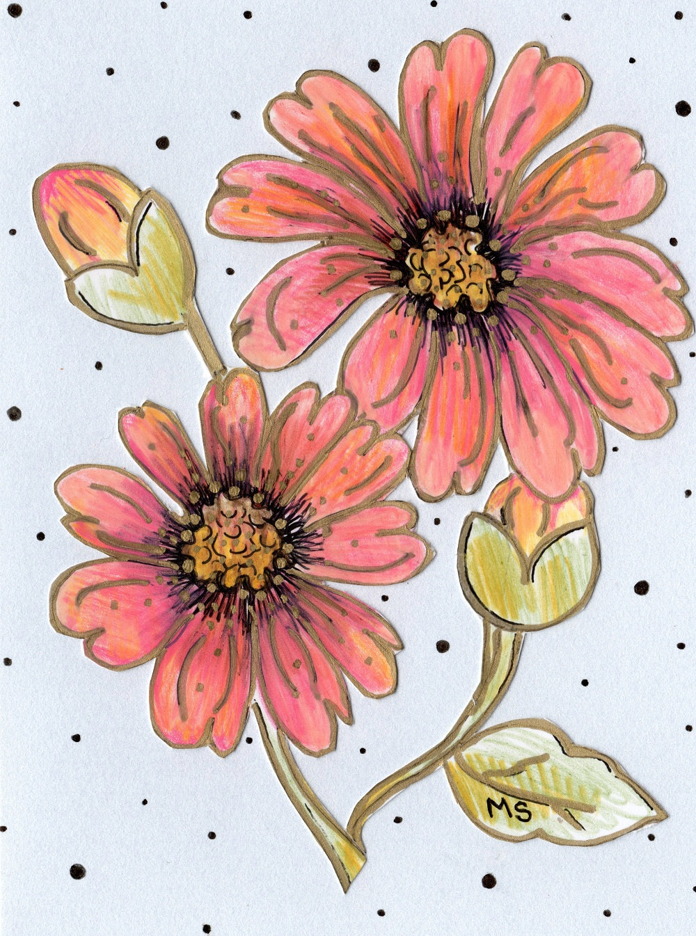 Dahlia flower drawing at getdrawings free for personal use 1000x1346 peach dahlia flower drawing izmirmasajfo