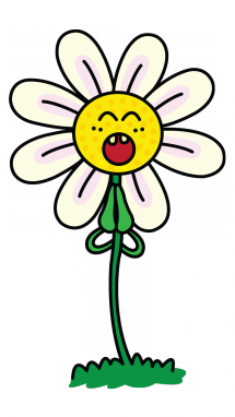 215x382 How To Draw A Smiling Daisy, Easy Step By Step Drawing Tutorial