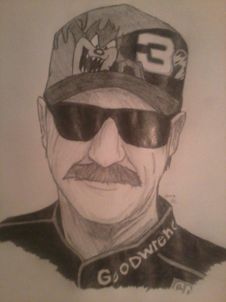 774x1032 Dale Earnhardt Sr. Sketch By Poison38