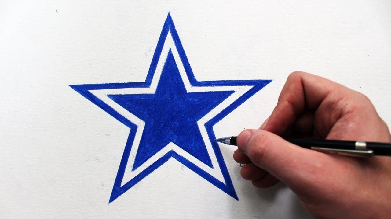 1280x720 Como Desenhar A Logo Dallas Cowboys