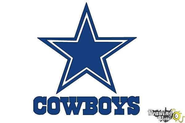 600x400 How To Draw Dallas Cowboys Logo, Nfl Team Logo