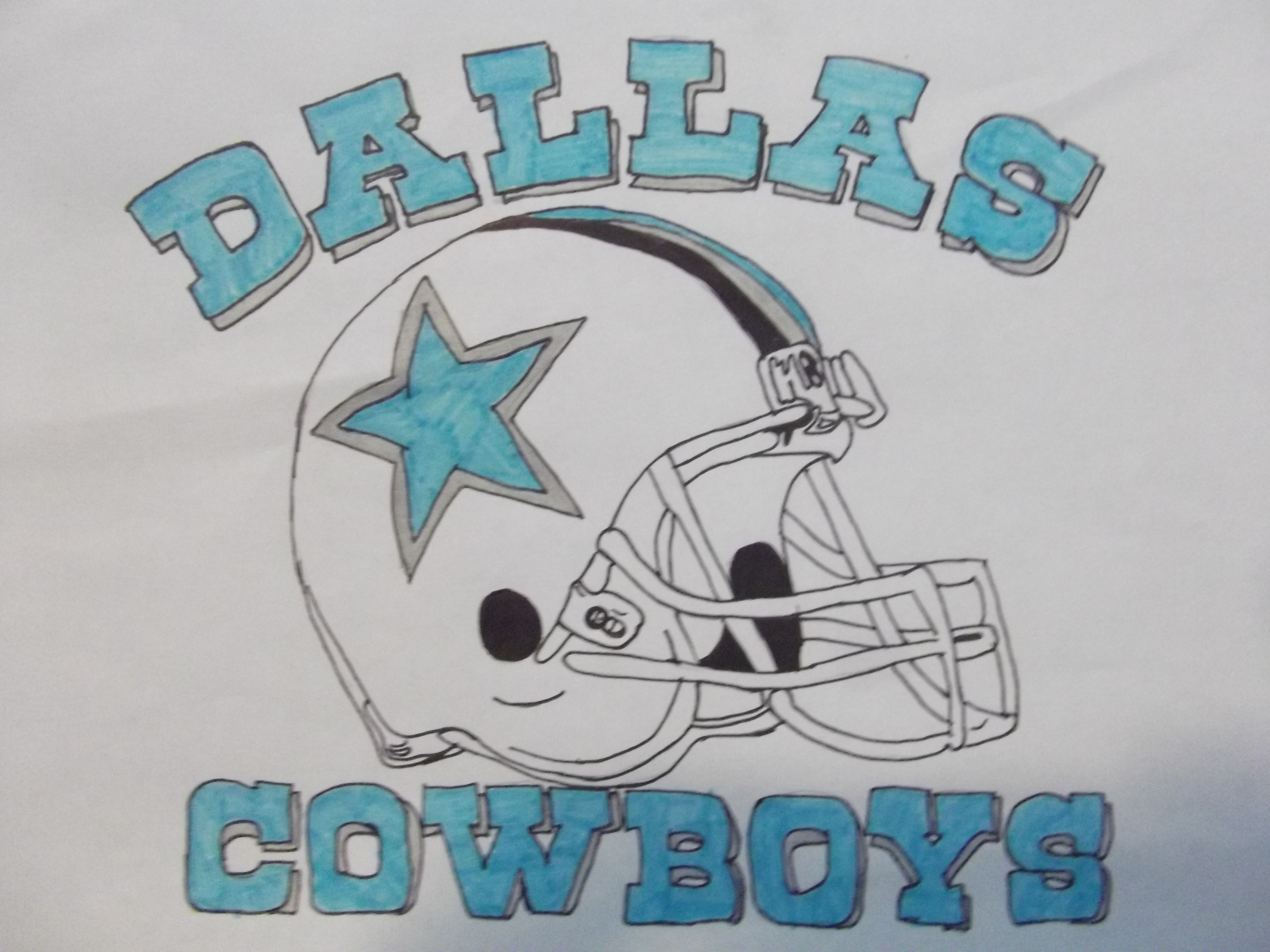 4288x3216 Dallas Cowboys Drawings Cowboy Star Clipart