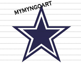 340x270 Dallas Cowboys Logo Etsy