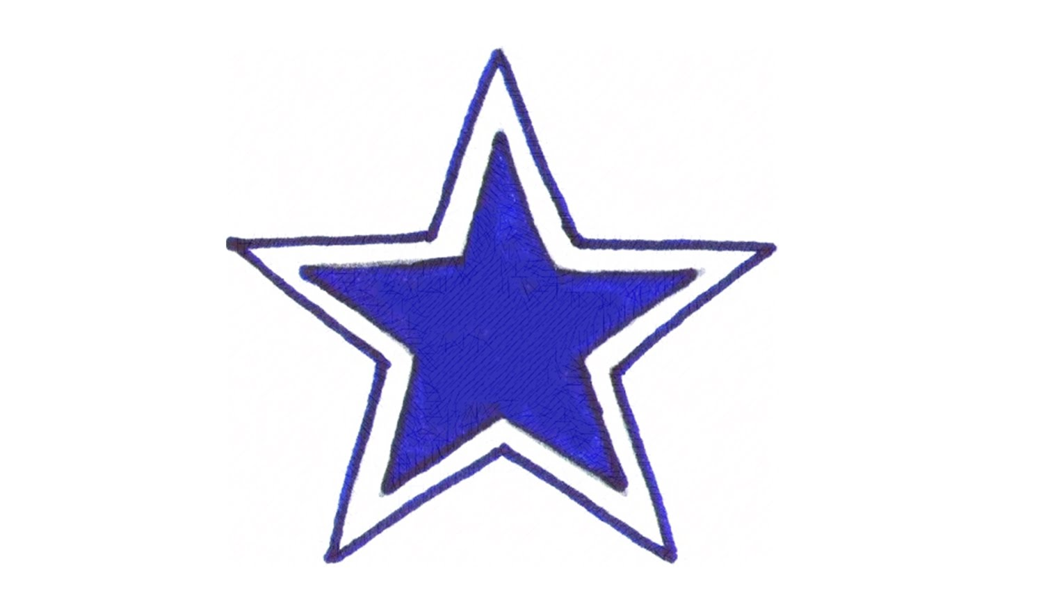 1500x886 How To Draw The Dallas Cowboys Logo (Nfl)