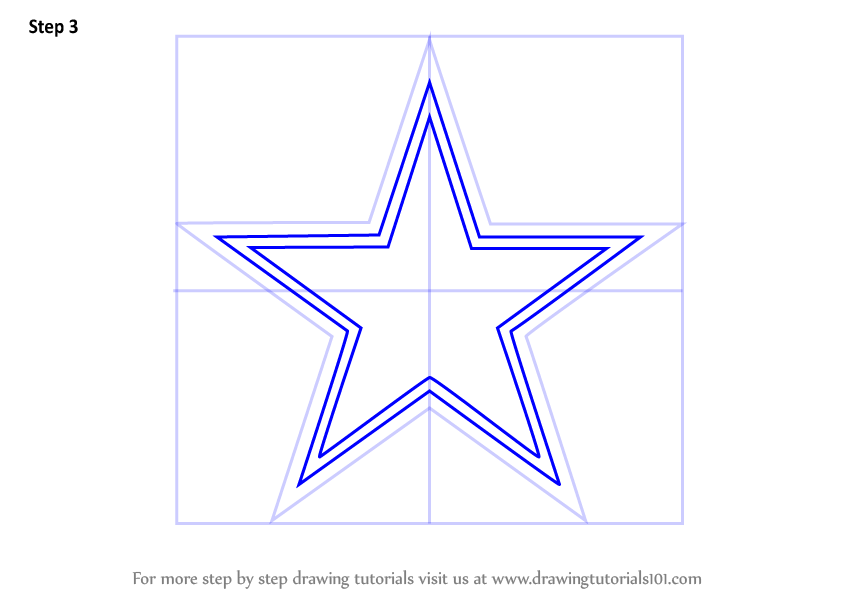 844x598 Learn How To Draw Dallas Cowboys Logo (Nfl) Step By Step Drawing