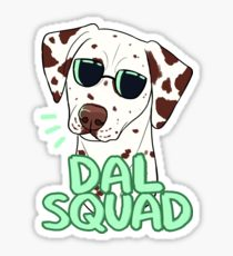 210x230 Dalmatian Drawing Stickers Redbubble