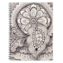 260x260 White Damask Mandala Drawing Gifts On Zazzle