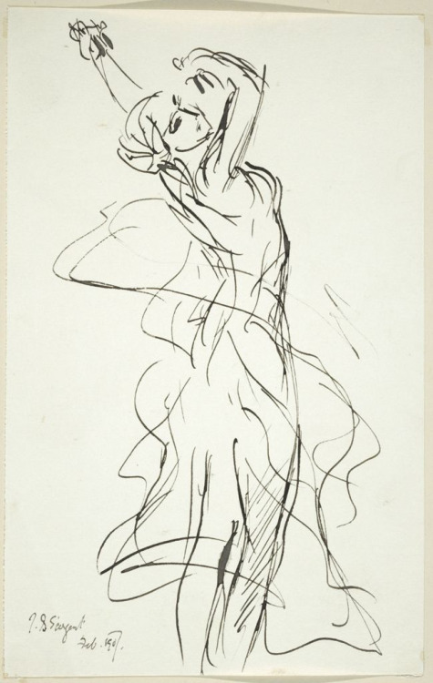 475x750 The Dance By John Singer Sargent~ Drawings