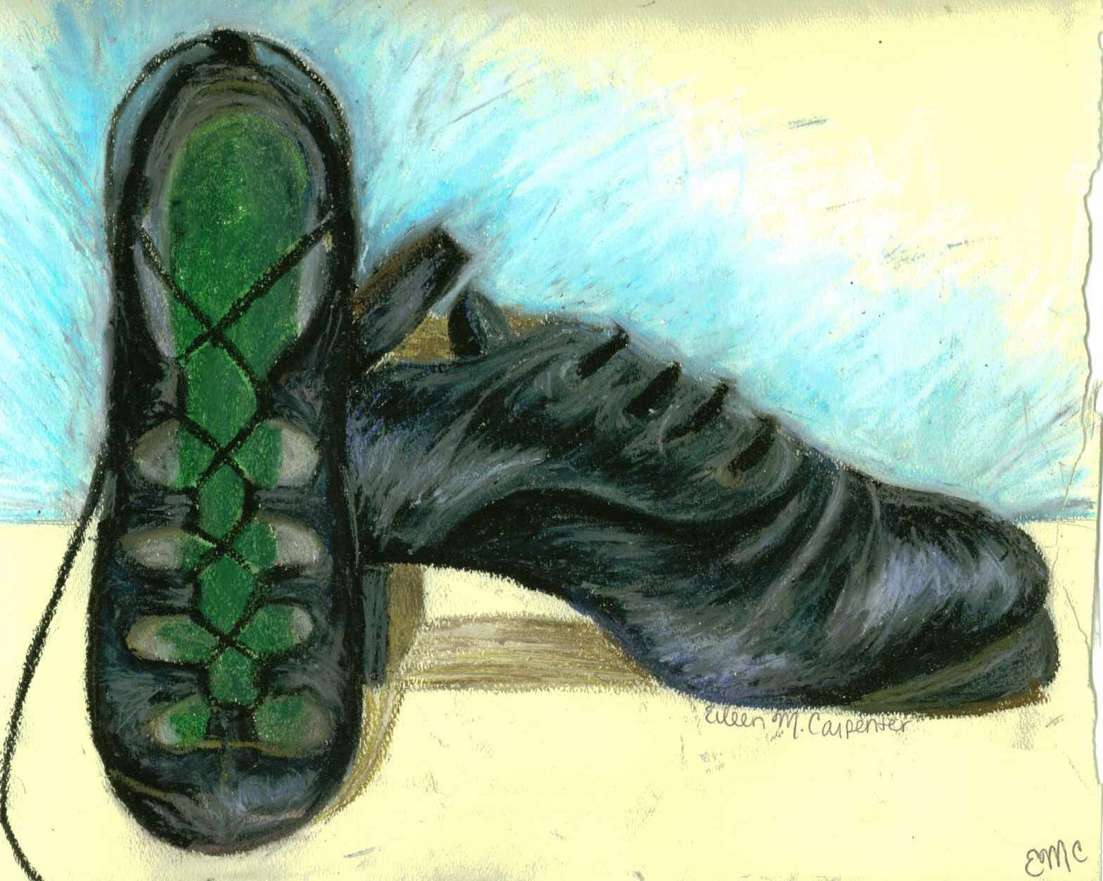 1569x1253 Irish Dancing Shoes By Livelovedraw