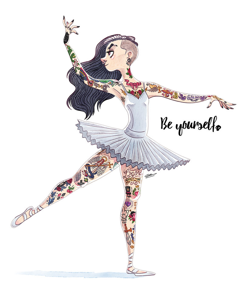 810x986 Ballet Dancer By Grievousgeneral