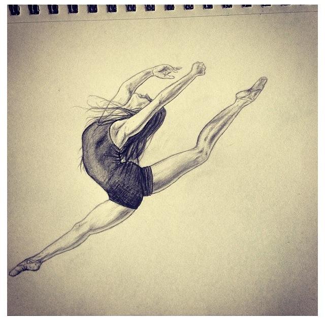 640x629 Dancer Sketch I Did! Art Work Dancers, Sketches