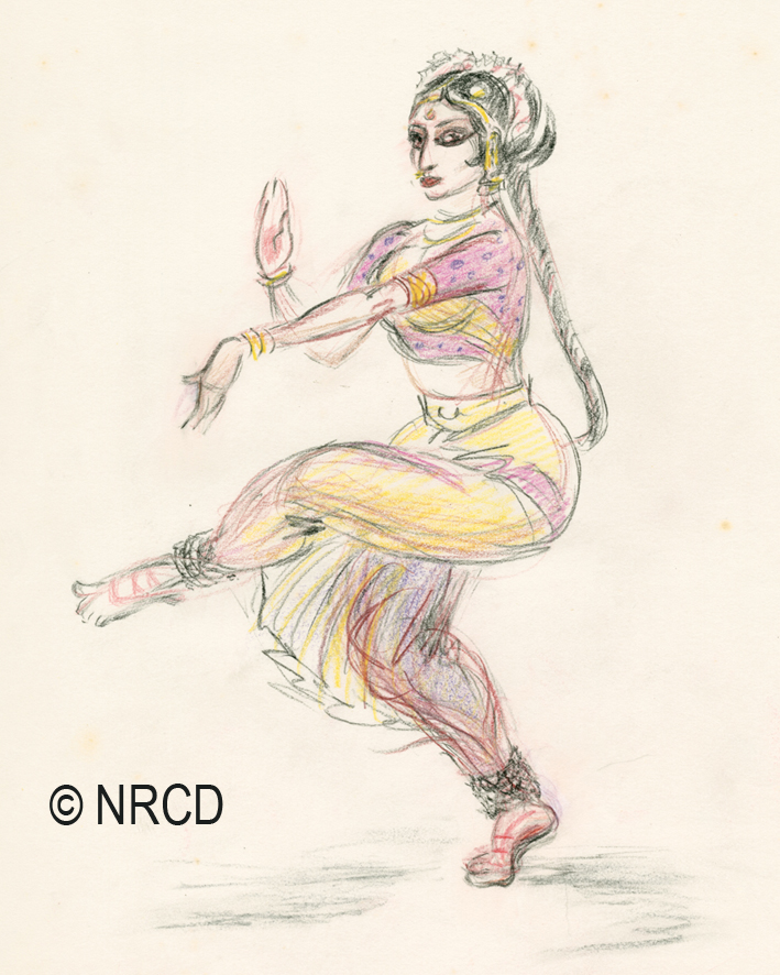709x886 Eilean Pearcy Drawing Of Ritha Devi Contexts, Culture