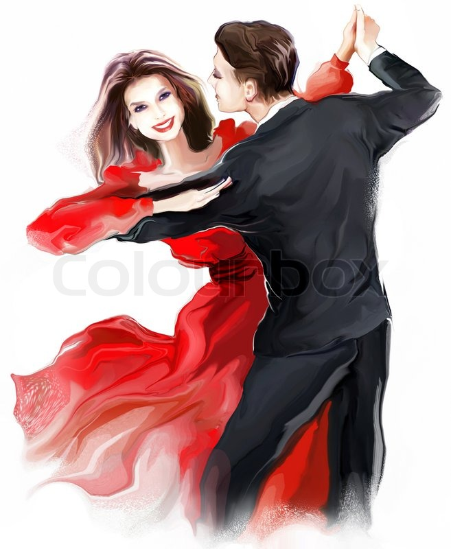 657x800 Beautiful Couple In The Active Ballroom Dance Stock Photo