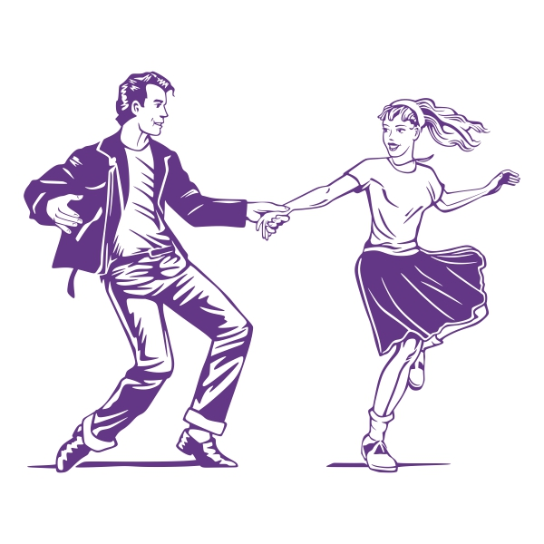 600x600 Dancing Couple Cuttable Design
