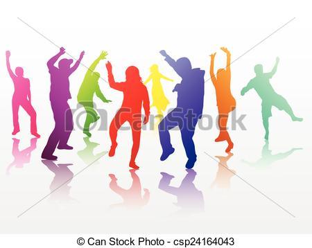 450x358 Dancing People Eps Vector