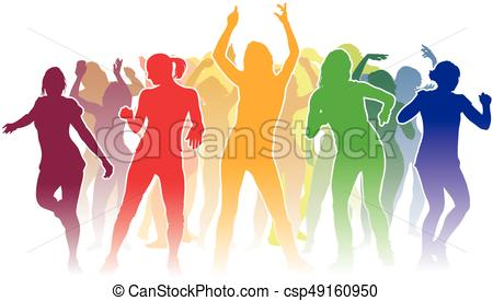 450x275 Group Of Dancing People