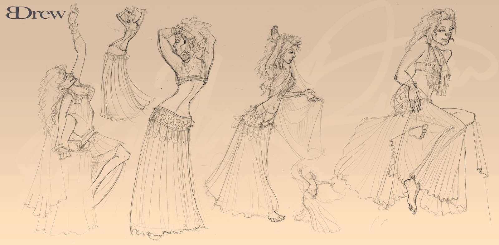 1600x787 Dancing Poses For Drawing Brittany Drew A Picture Drawing Club