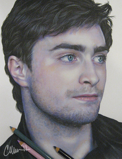 421x551 Daniel Radcliffe Drawing By Live4artinla