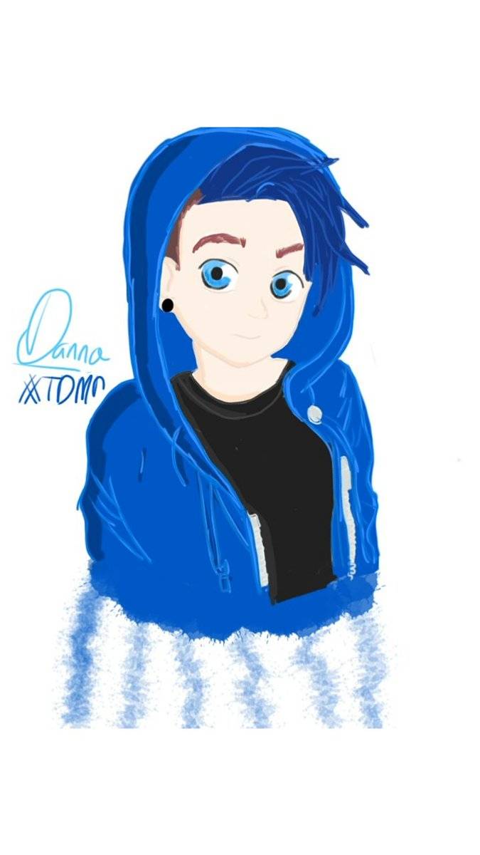 It is a graphic of Massif Dantdm Drawing Challenge