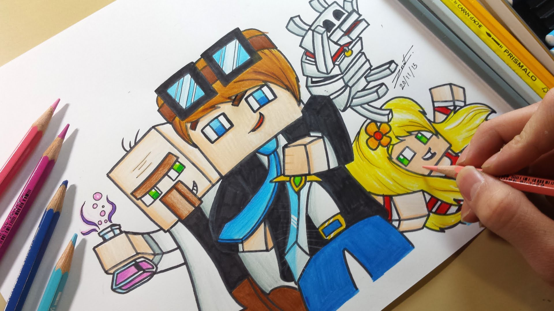 Dantdm Drawing At Getdrawings Com Free For Personal Use