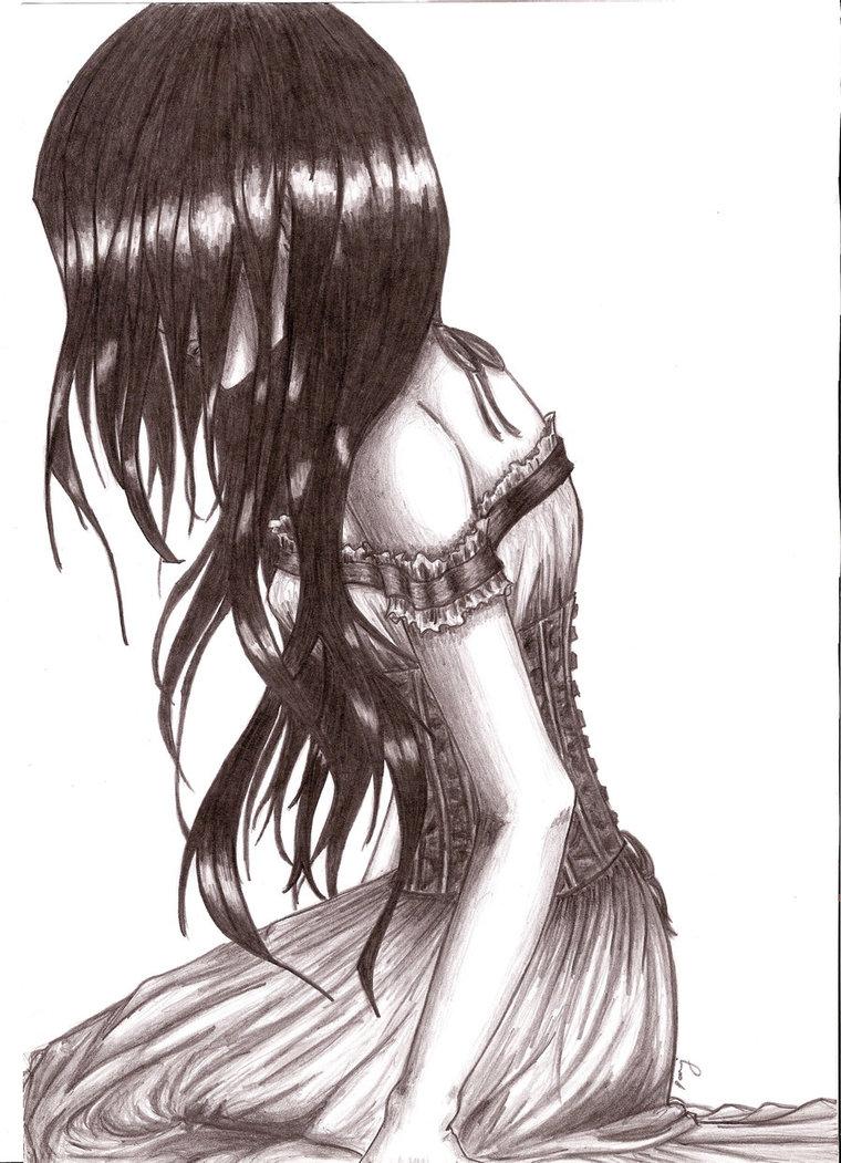 760x1051 Dark Angel Cry By Bstvampire