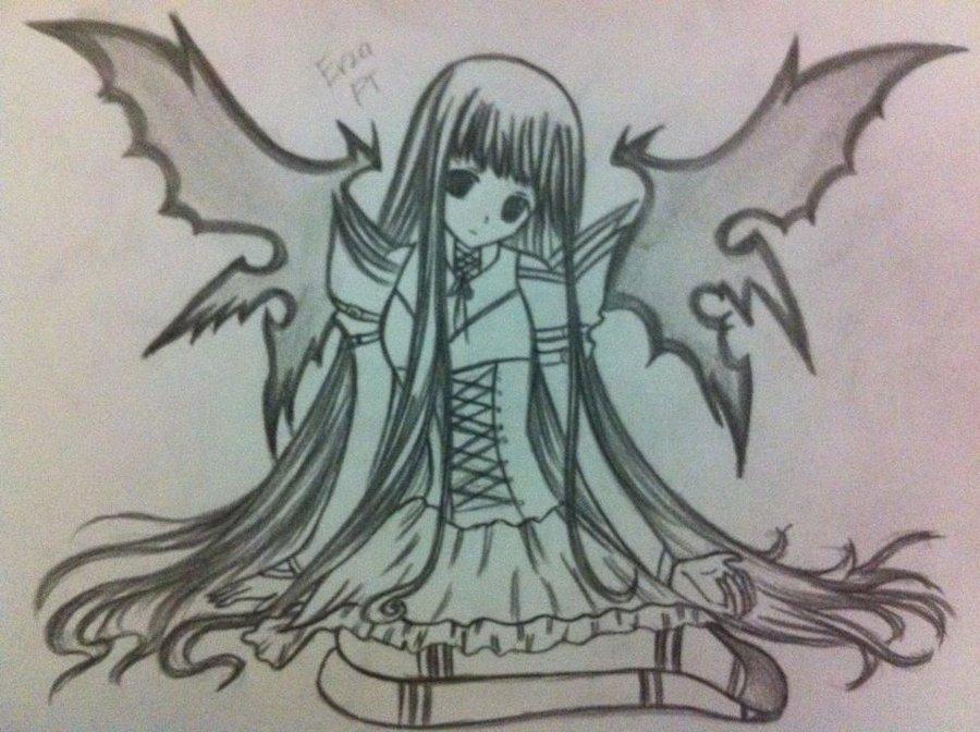 900x672 Dark Angel By Ryuukeru