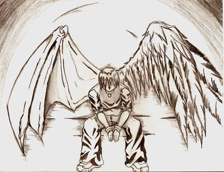 750x576 Fallen Angel By Evill33tchaos