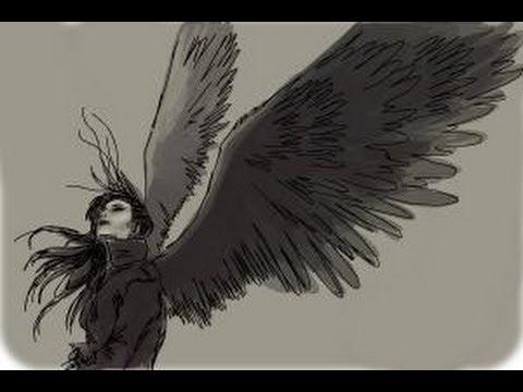 480x360 How To Draw A Dark Angel