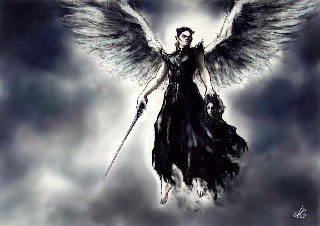 1024x722 Michael Draw Dark Angel By Eileendrawart