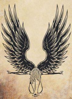 236x327 Angel Wings Drawing Tattoosamppiercings Wings