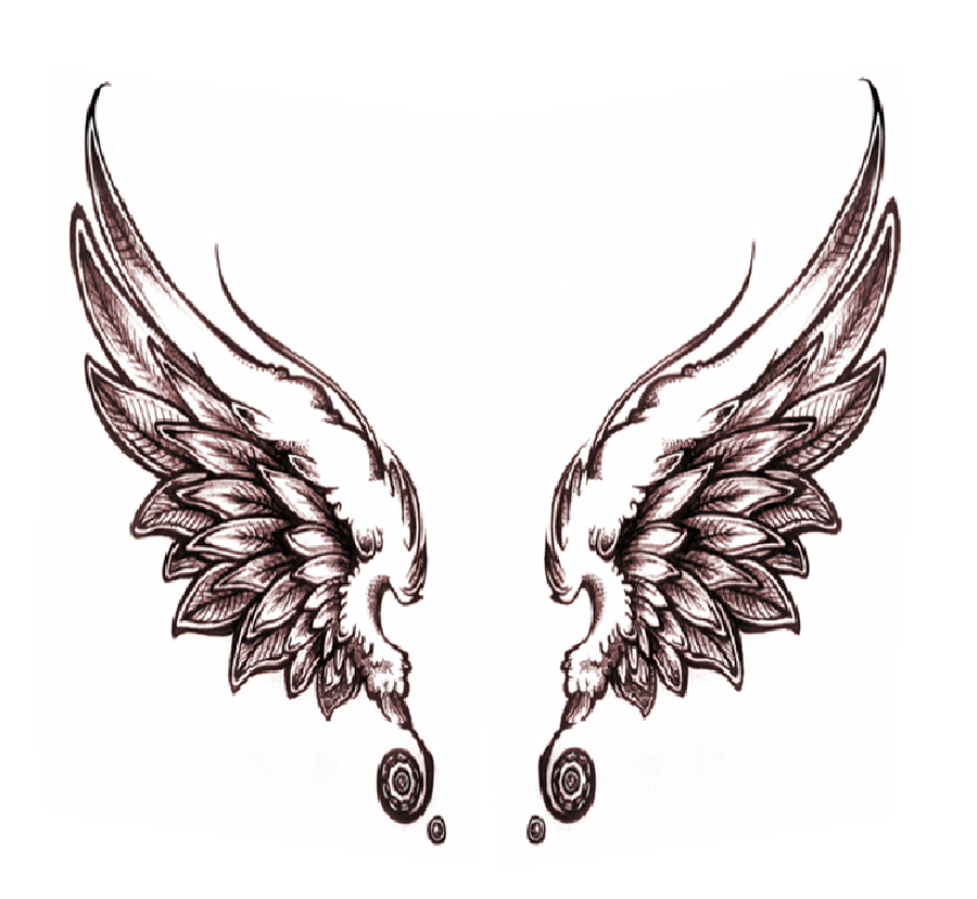 Dark Angel Wings Drawing At Getdrawings Com Free For Personal Use