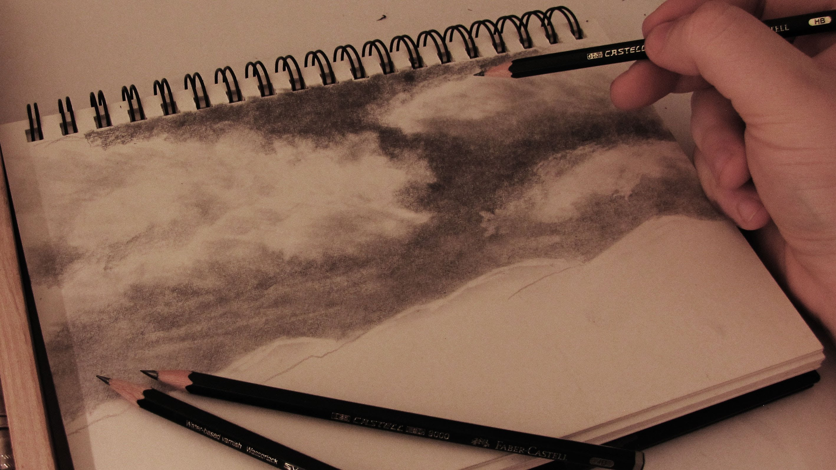 2836x1595 How To Draw Realistic Clouds