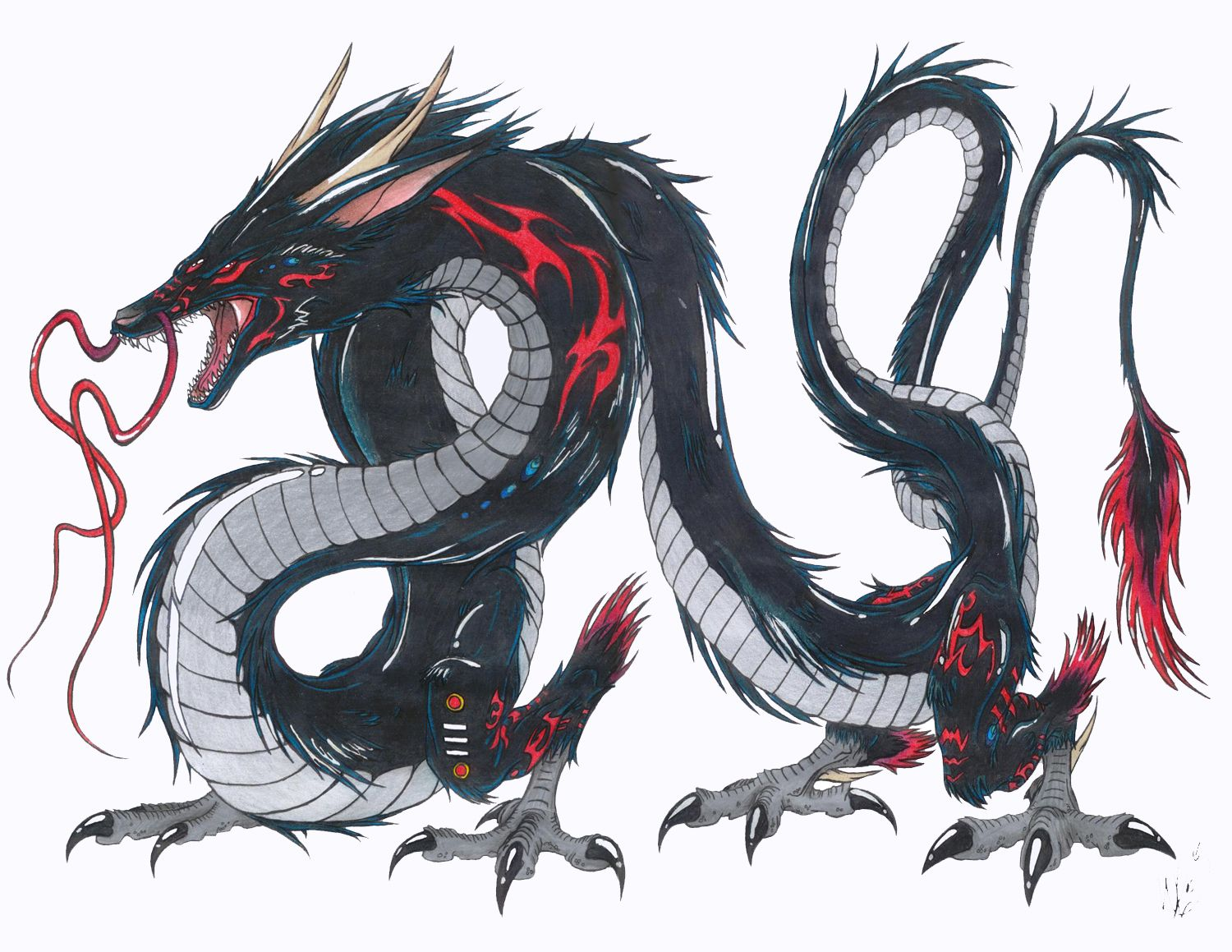1500x1159 Black Dragon Takarabria, Ver.2 By
