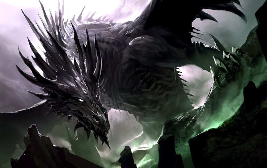 864x543 Black Dragon