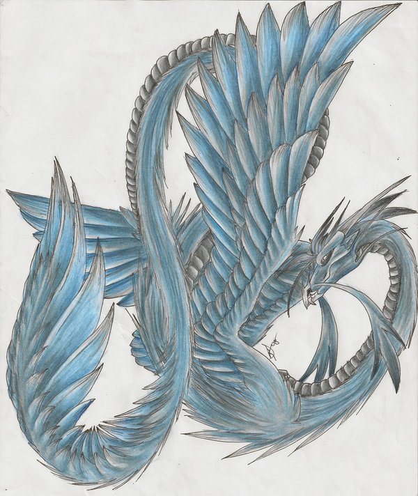 600x712 Wind Dragon Malrien By Dark Dragon Kyra