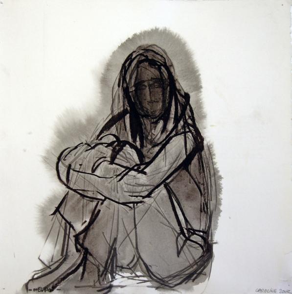 597x600 Caroline Tavelli Abar Images Dark Drawings