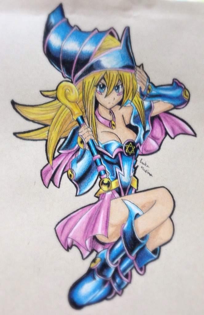 663x1024 Dark Magician Girl Drawing! Anime Amino