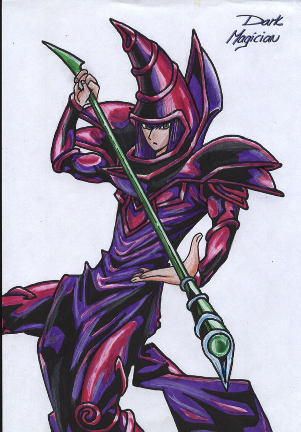 600x862 Dark Magician By Fakiraa18