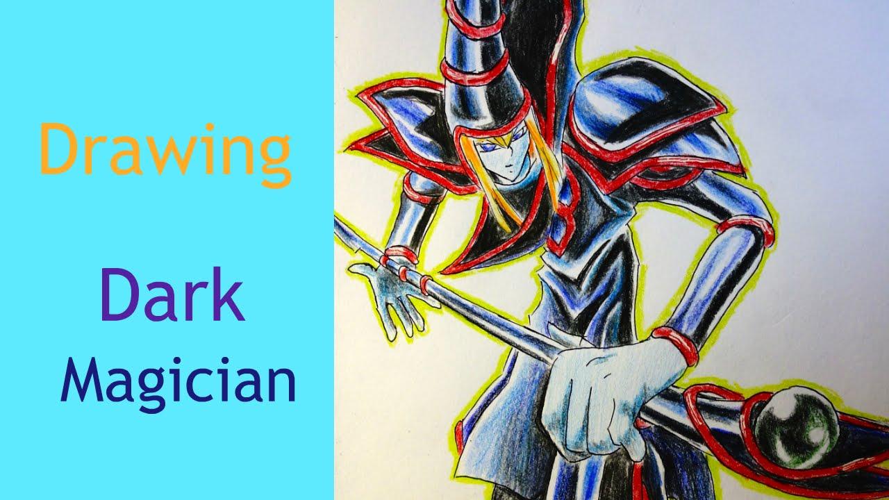 1280x720 Yugioh Drawing Dark Magician