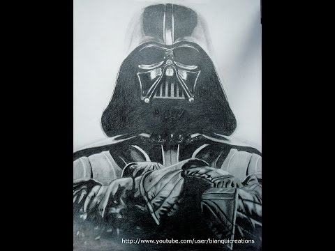 480x360 Darth Vader Speed Drawing