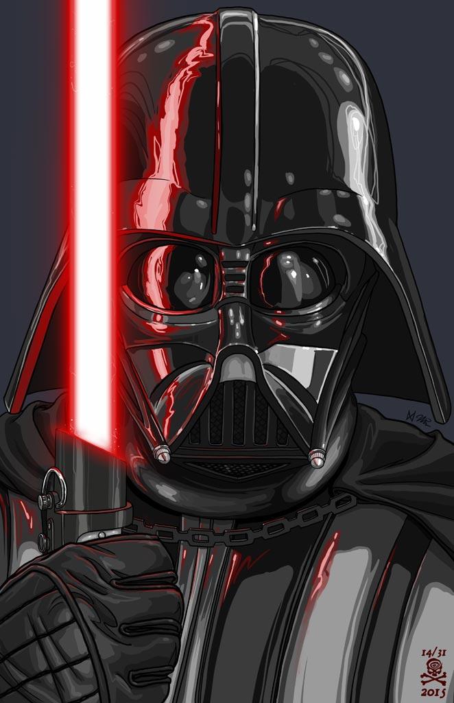 662x1024 Darth Vader By Quasilucid