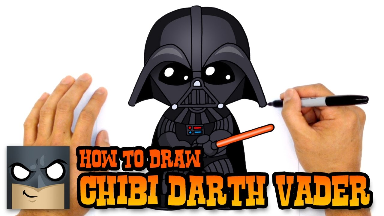1280x720 How To Draw Darth Vader Star Wars