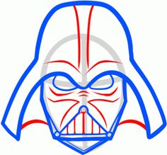 236x219 How To Draw Darth Vader Easy, Step By Step, Star Wars Characters
