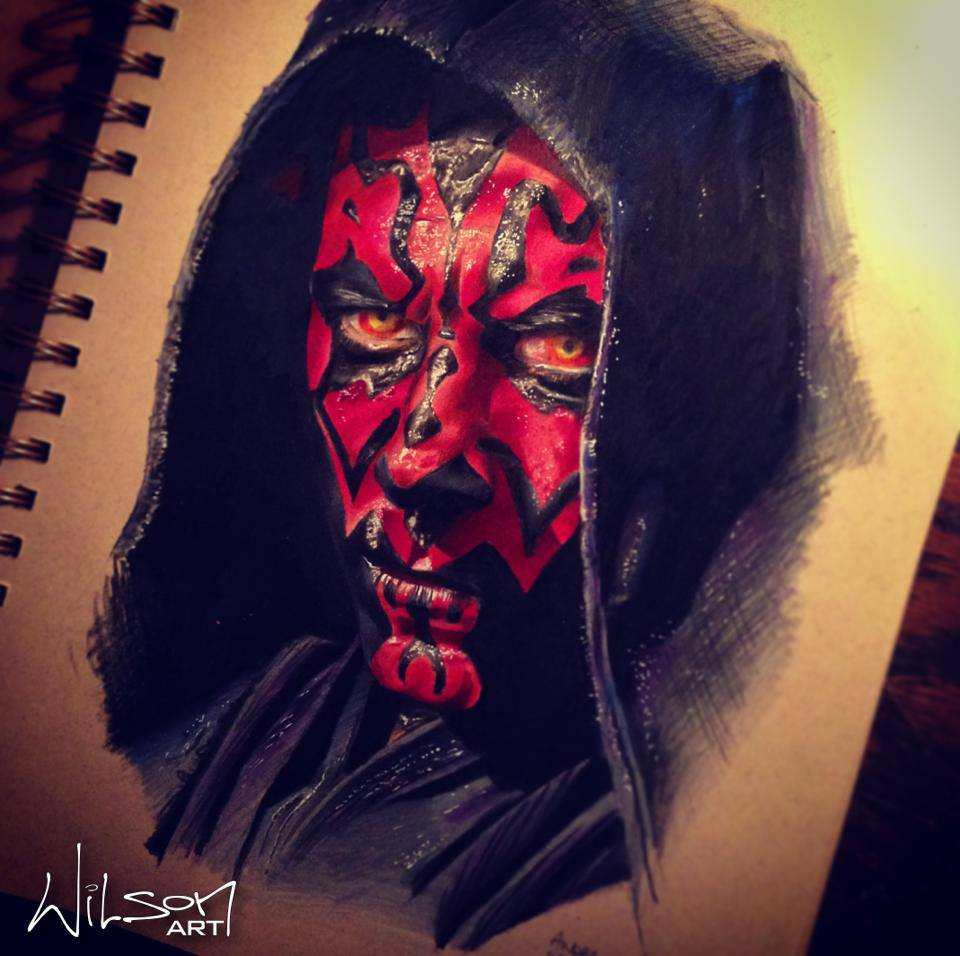 960x956 Check Out This Amazing Darth Maul Drawing A Guy I Know Just Did