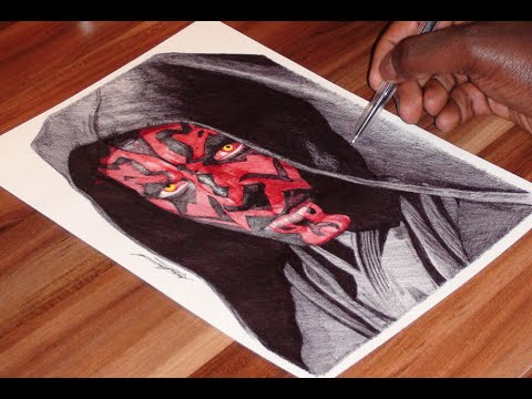 480x360 Darth Maul Drawing